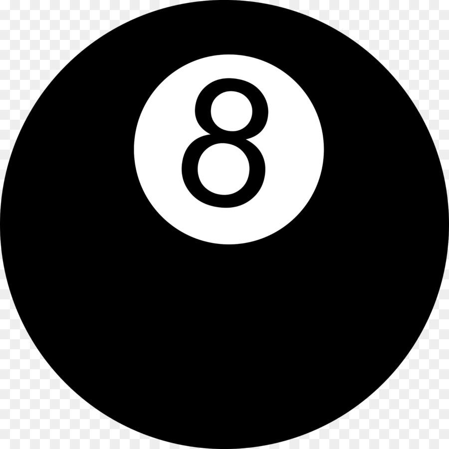 Magic ball eight clip. Billiards clipart