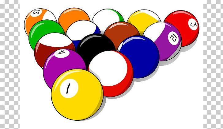 Pool billiard balls png. Billiards clipart billiards rack