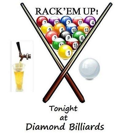 Diamond rancho cordova all. Billiards clipart billiards rack