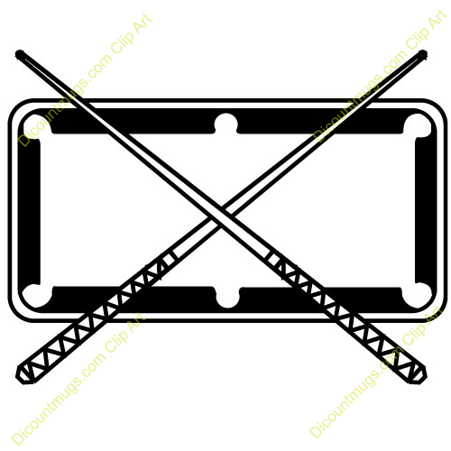 Billiards clipart black and white.  collection of pool