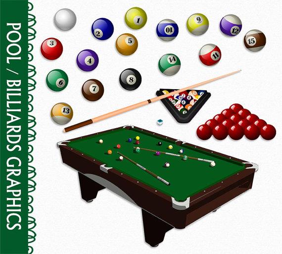 Clip art graphic billards. Billiards clipart pool ball