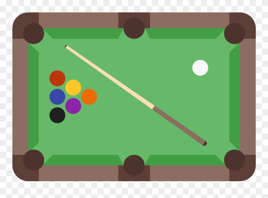 Billiards clipart pool table. Clip art billard png