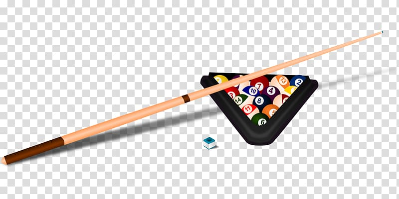 Cue stick billiard balls. Billiards clipart snooker