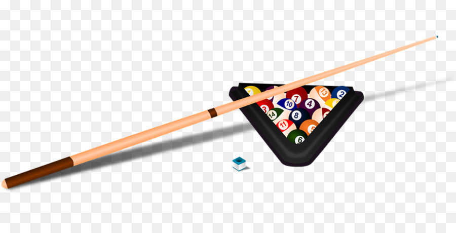 Billiard ball pool cue. Billiards clipart snooker