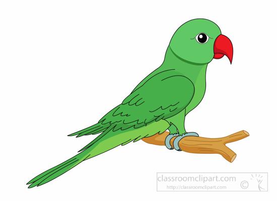 Parrot clipart little green. Beak clip art library
