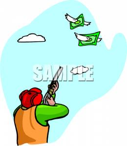 Hunter clipart two. Royalty free image a