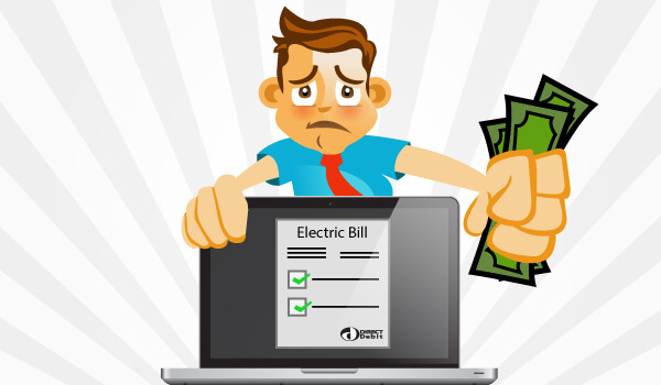 Bills clipart debit. It s bad news
