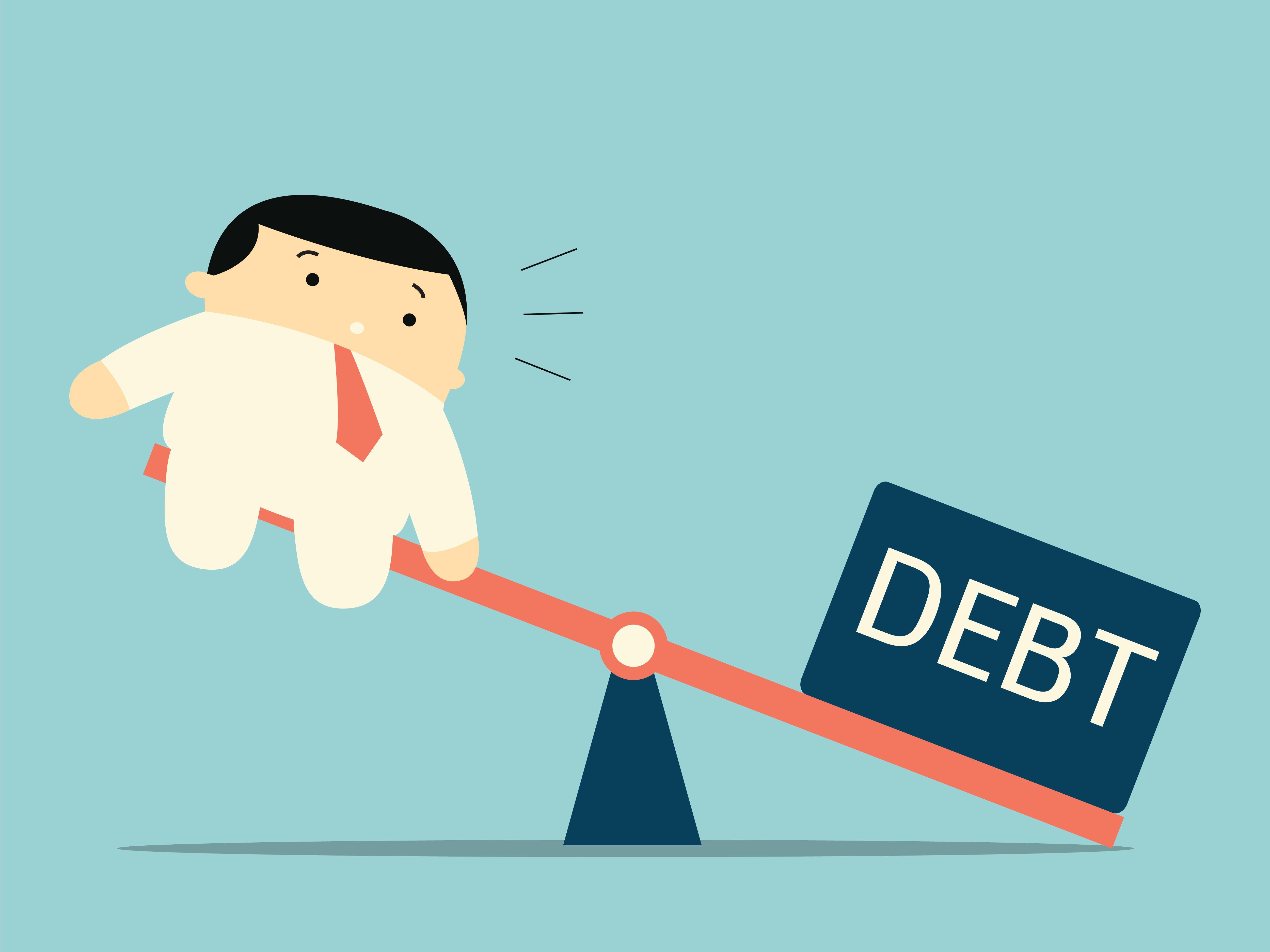 Bills clipart debt. Mcdermott financial solutions negative