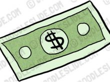 Bills clipart dollar bill. Free panda images music