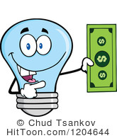 Bills clipart electric bill. Energy savings royalty free