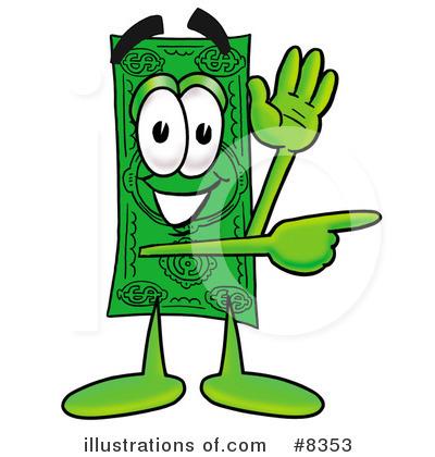 Bills clipart fee. Dollar bill illustration by