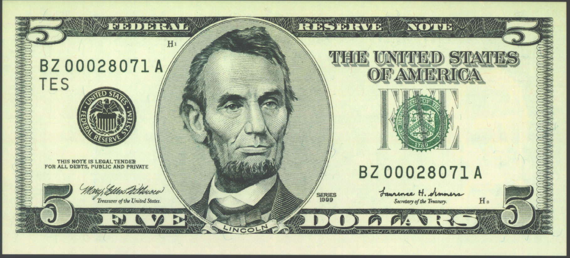 Bills clipart five dollar.  bill clip art