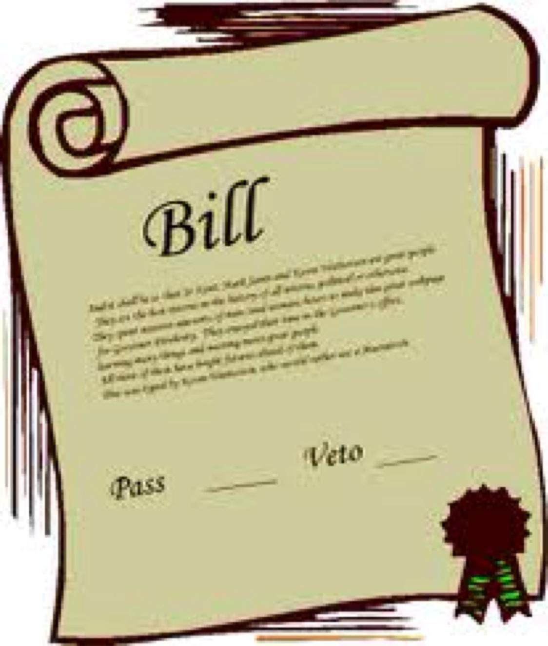 Bills clipart government bill.  branches of u