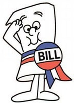 First few steps how. Bills clipart law