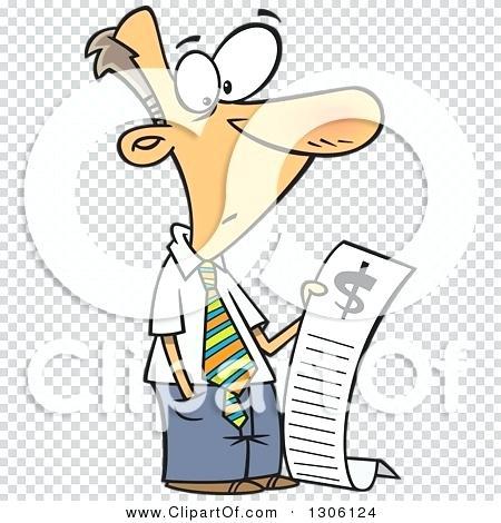 Bills clipart long. Bill clip art of