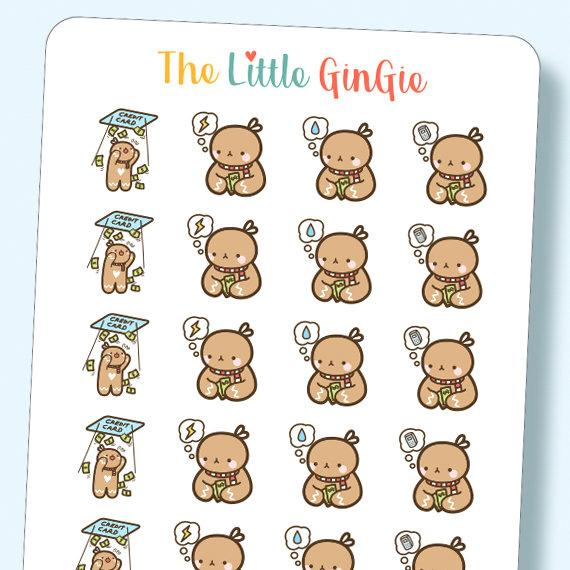 Gingie pay water electric. Bills clipart phone bill