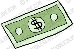 Bills clipart right. Dollar bill free panda