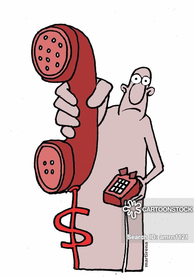 Phone cost cartoons and. Bills clipart telephone bill