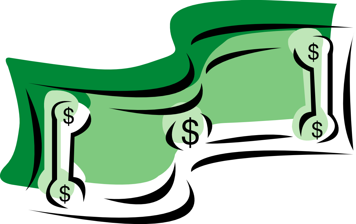 collection of dollar. Economy clipart money donation