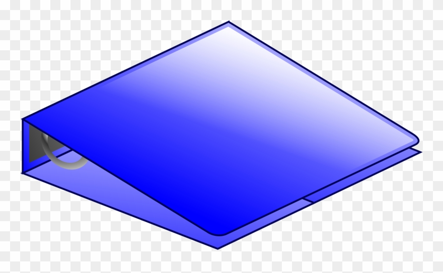 Blue ring png microsoft. Binder clipart