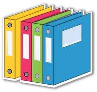 Search results for three. Binder clipart
