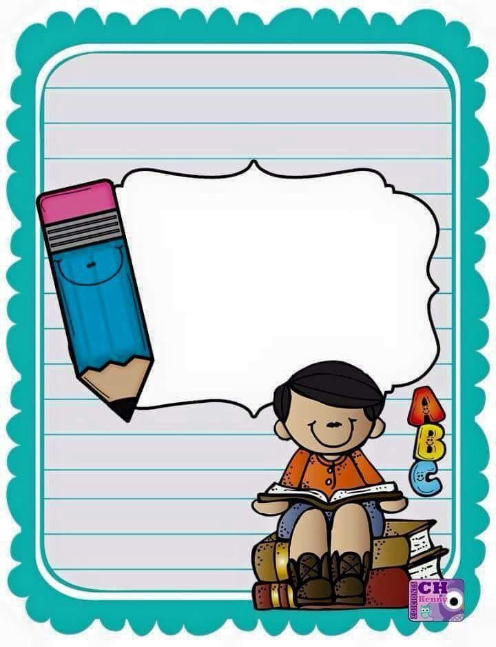 School notes color pinteres. Binder clipart blue
