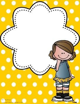 Binder clipart classroom. Polka dot covers and