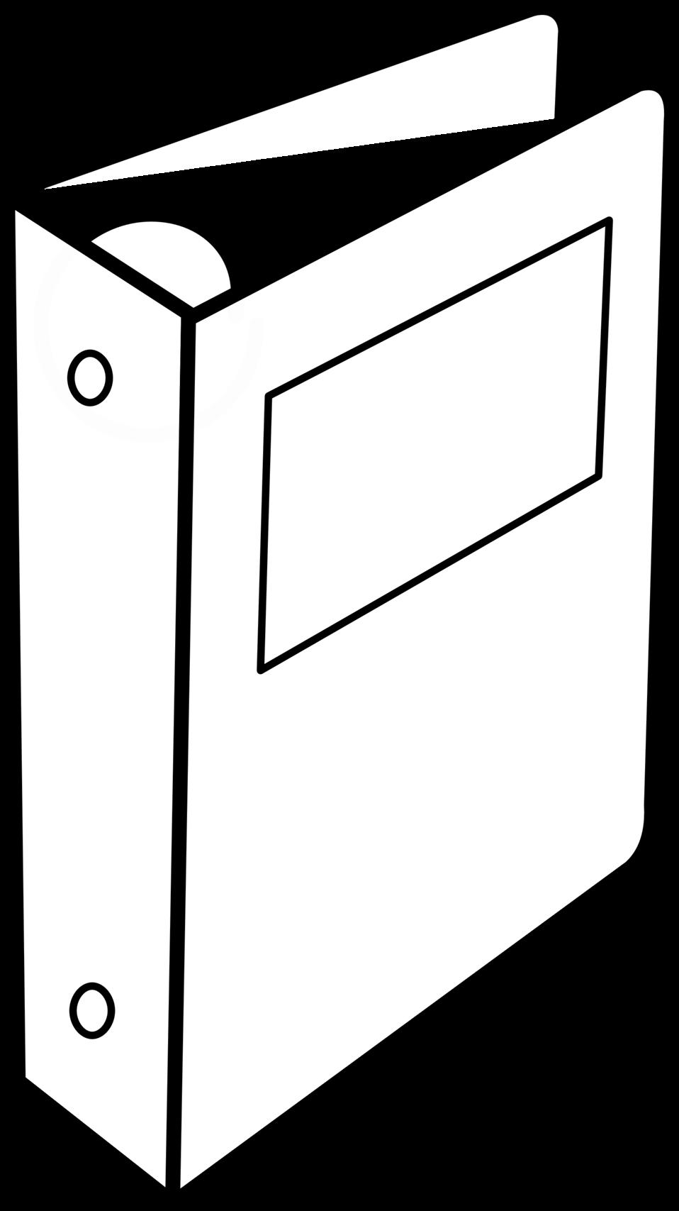 Public domain clip art. Binder clipart file