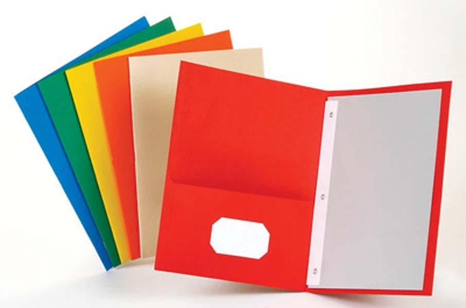 . Folder clipart pocket folder