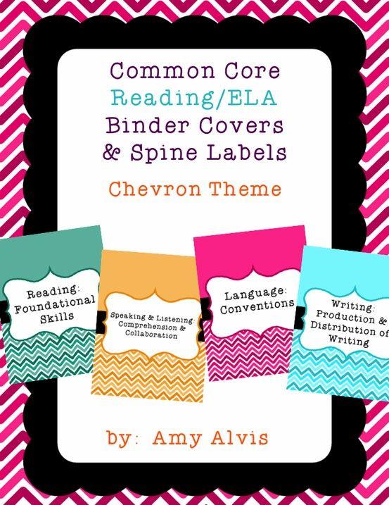 Binder clipart language art. Common core reading ela