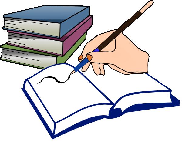 Textbook clipart pencil. Language arts panda free