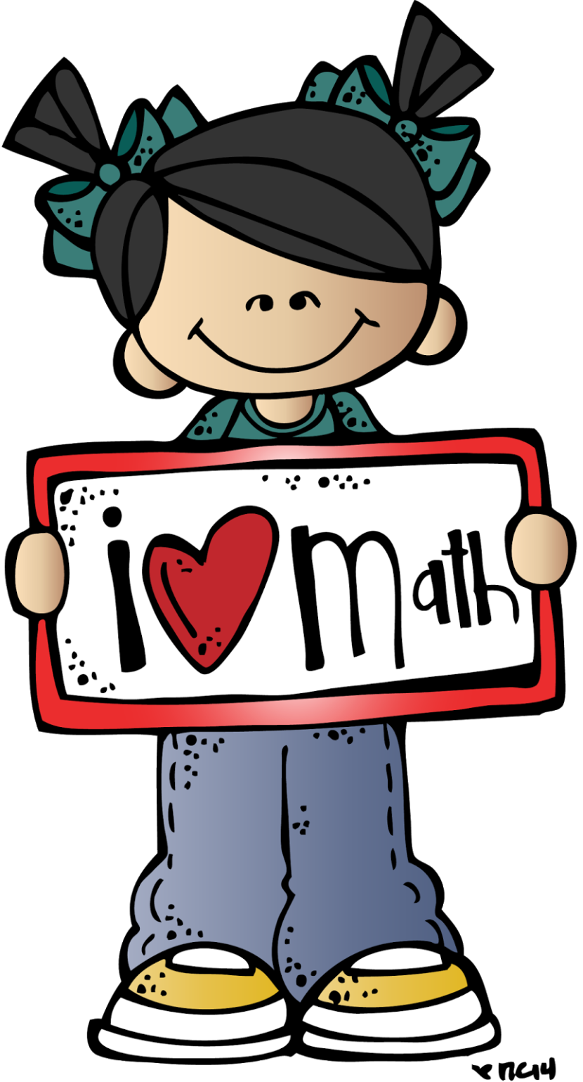 Math clipart. I love pencils desgine
