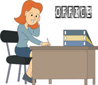 Binder clipart office worker. Search results for clip