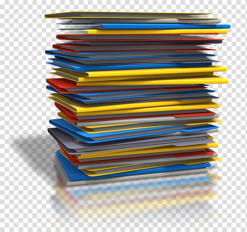 Paper transparent background png. Binder clipart pile document