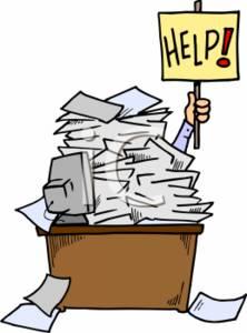 Binder clipart pile document. Documents work paperwork open