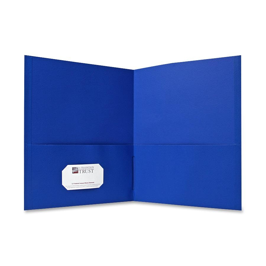 Sparco simulated leather double. Folder clipart blue folder