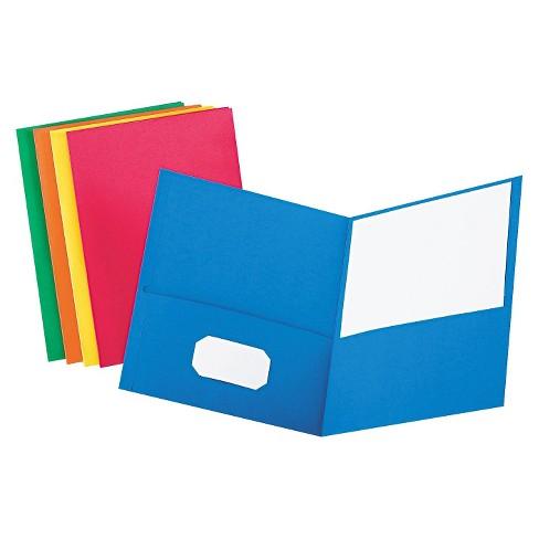 Oxford twin portfolio with. Binder clipart pocket folder