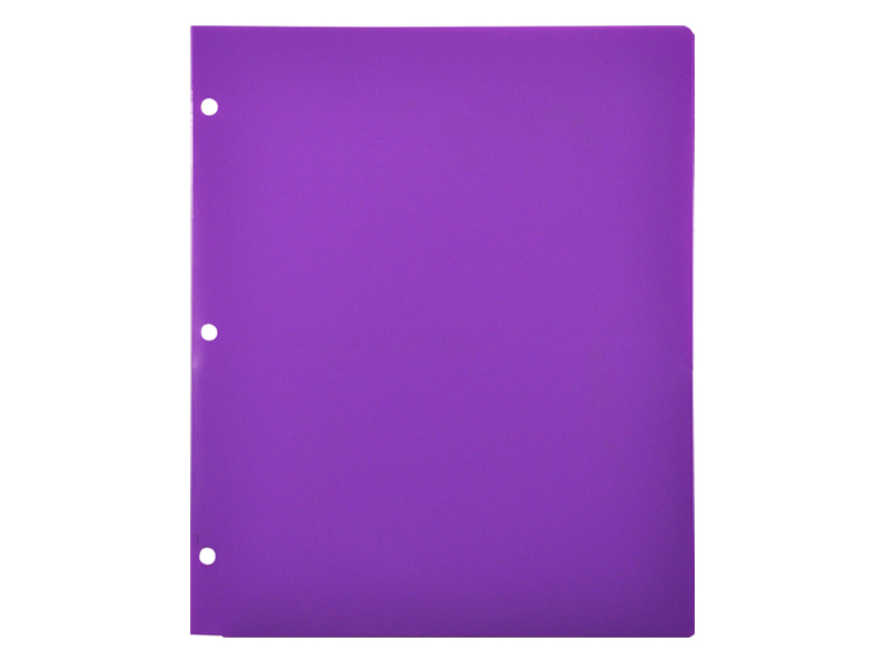 Binder clipart pocket folder.  plastic for purple