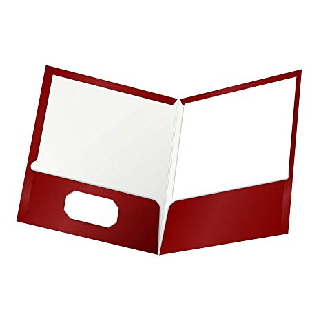 Oxford laminated twin folders. Binder clipart pocket folder