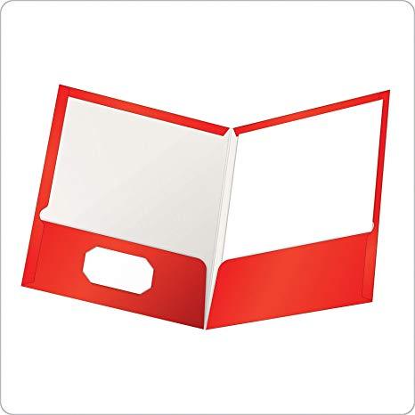 Amazon com oxford showfolio. Binder clipart pocket folder