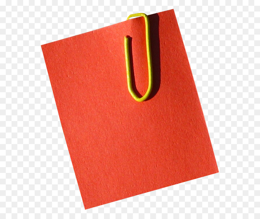 Binder clipart red. Post it note paper