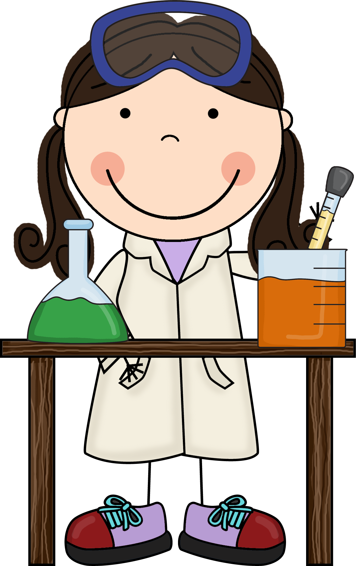 Science free best ciencia. Working clipart group scientist