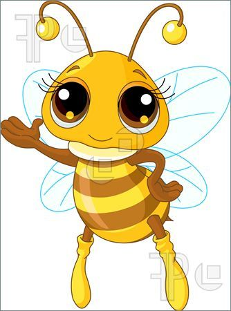 Cartoon bumble bee images. Bing clipart beehive
