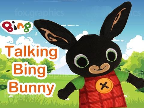 Talking plush toy hd. Bing clipart bunny