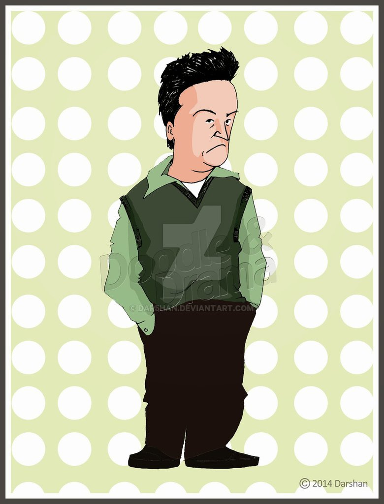 Chandler by dar han. Bing clipart cartoon