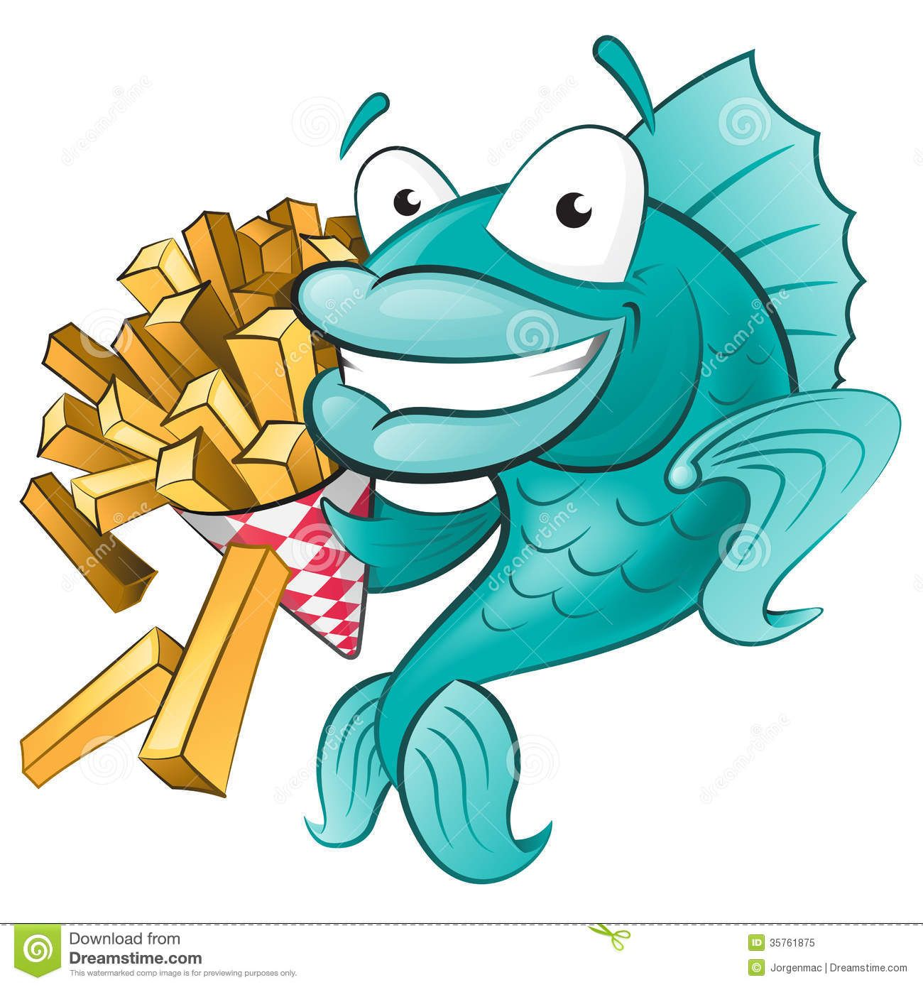 Fish and chips clip. Bing clipart cartoon