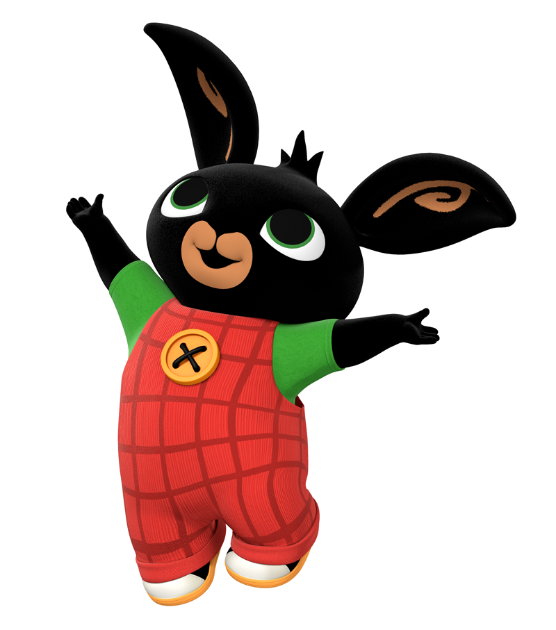Bing clipart cbeebies. These bunny character colouring