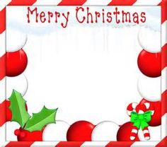 Bing clipart christmas. Free clip art borders