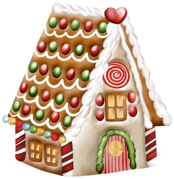 Bing clipart christmas.  best gingerbread house