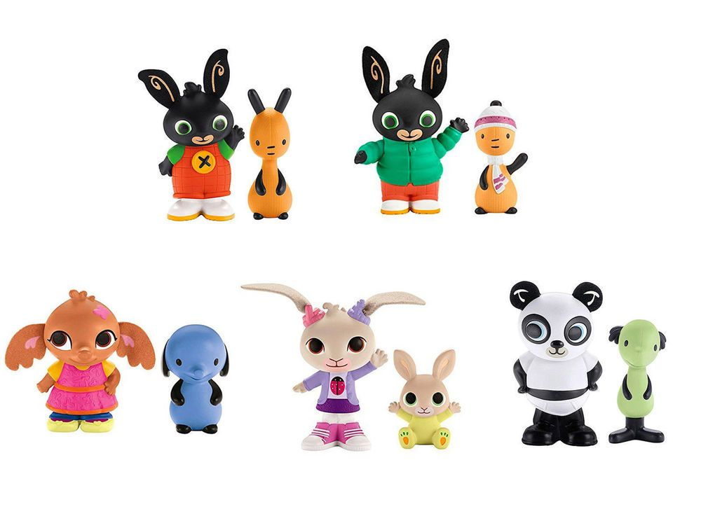 Bing clipart coco. Bunny figure twin pack